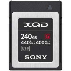 CARTE XQD 240 GB SONY QD-G240F