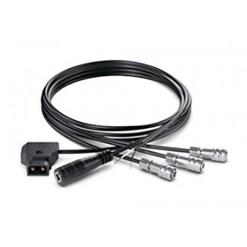 Blackmagic Design Pocket Camera DC Cable Pack - Cordons d'alimentation pour Pocket Camera