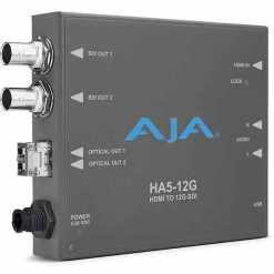 CONVERTISSEUR HDMI 2 VERS 12G-SDI AVEC 2 EMETTEURS AJA HA5-12G-2T