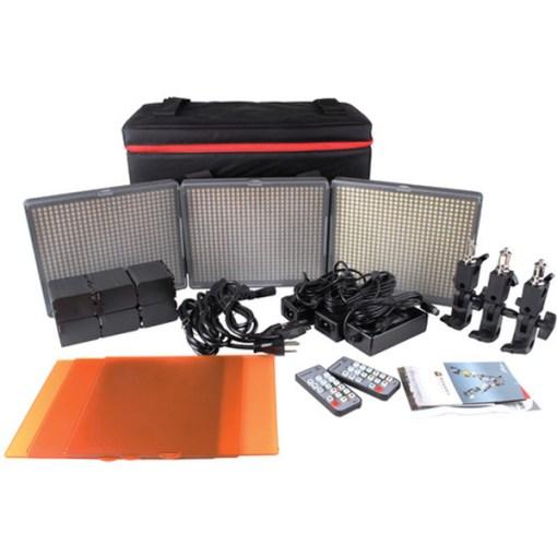 Aputure HR672 SSW - kit 3x panneaux LED