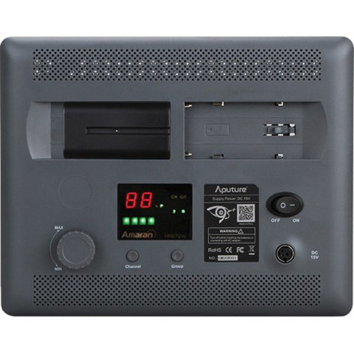 Aputure HR672W Daylight  - panneau LED wide