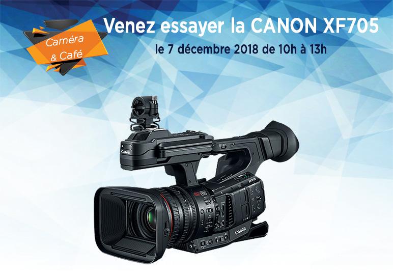 Caméra & Café CANON XF705