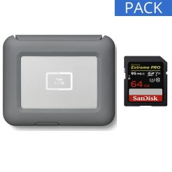 pack disque dur Lacie DJI Copilot carte sandisk