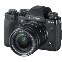 Fujifilm X-T3 Noir + 18-55mm - Kit Appareil Photo et Objectif