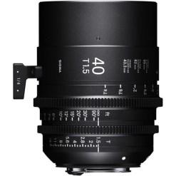 Sigma 40mm T1.5 FF Monture PL - Objectif Prime