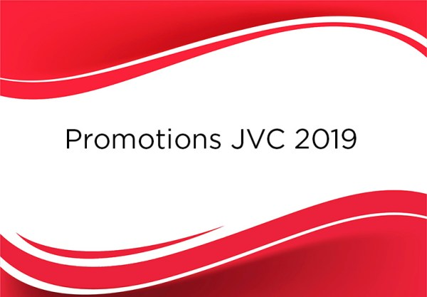 Promotions JVC 2019