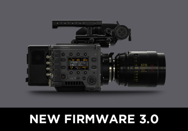 SONY VENICE New Firmware 3.0