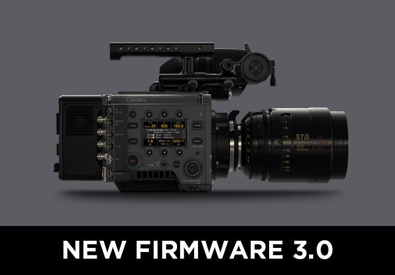 SONY VENICE New Firmware 3.0