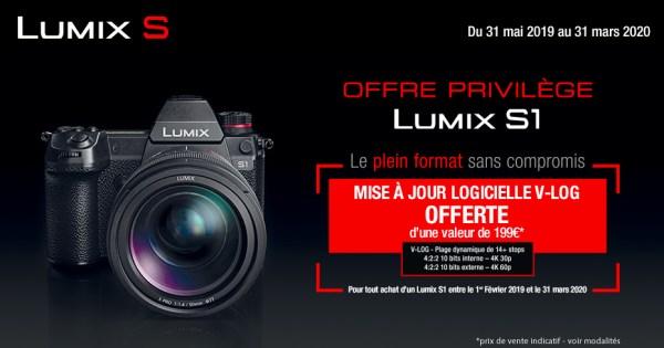 Panasonic Lumix DC-S1 + 24-105mm - Kit Appareil Photo et Objectif