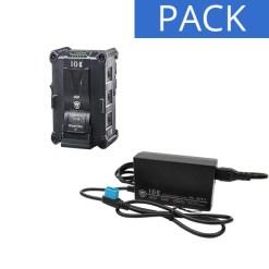 IDX Batterie IPL-98 & Chargeur VL-DT1 - Kit Batterie et Chargeur