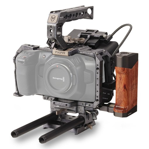 KIT TACTICAL CAGE TILTA POUR BLACKMAGIC POCKET CINEMA 4K