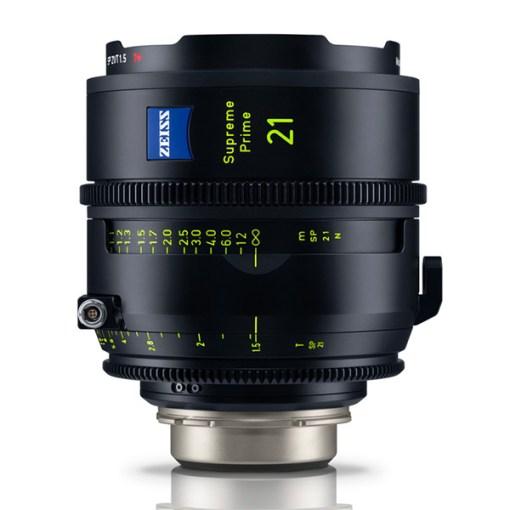 ZEISS Supreme Prime 21mm T1.5 (PL, imperial) - Objectif Prime Cinéma