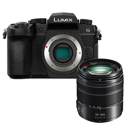 Panasonic Lumix DC-G90 + 14-140mm - Kit Appareil Photo et Objectif