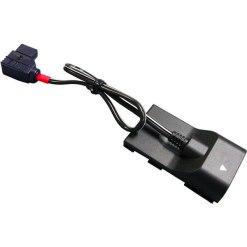 IDX C-CANC - Cable d'Alimentation pour Canon XL-H1/XHG1/XHA1