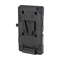 IDX P-VS2 - Plaque d'Adaptation V-Mount avec Sortie D-TAP