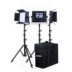 Ledgo LG-900CSCII - kit de 3 panneaux LED