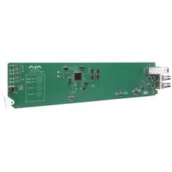 CARTE OPENGEAR 2 CANAUX 3G-SDI VERS FIBRE MULTI-MODE AJA OG-FIDO-2T-MM