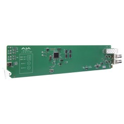 CARTE OPENGEAR 2 CANAUX 3G-SDI VERS FIBRE AJA OG-FIDO-2T-X