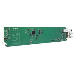 CARTE OPENGEAR 1 CANAL MULTI-MODE FIBRE VERS 3G-SDI AJA OG-FIDO-R-MM