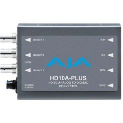 AJA HD10A-Plus - Mini Convertisseur Analogique vers Digital HD/SD-SDI