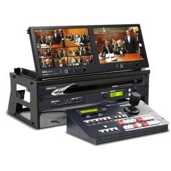 Datavideo GO-KMU-Studio - unité de production avec streaming, firmware + moniteur