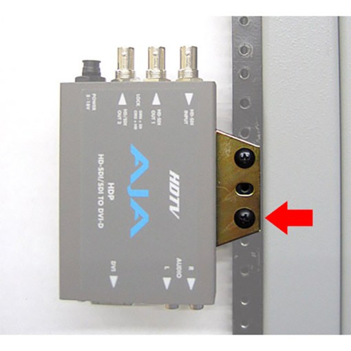 AJA RMB-10 - Kit de mise en rack pour mini-convertisseurs (x10)