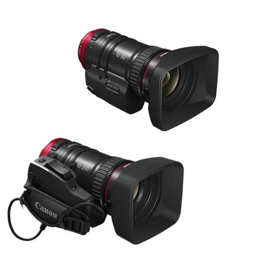 Canon Cine Servo Compact Kit - Objectifs