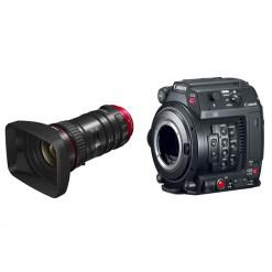Canon EOS C200 avec CN-E 18-80mm T4,4 L IS KAS S - Kit Caméra