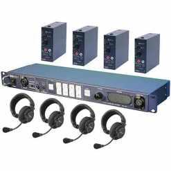 Datavideo ITC-100HP1-4 - système Intercom + 4 casques