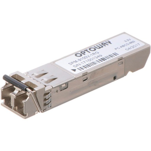 AJA FiberLC-1RX-MM - 1 Canal 3G-SDI Multi Mode LC Fiber Rx SFP pour FIDO