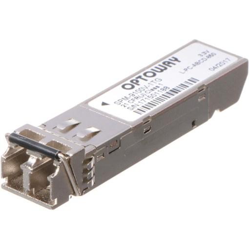 AJA FiberLC-1Tx-MM - 1 Canal 3G-SDI Multi Mode LC Fiber Tx SFP pour FIDO