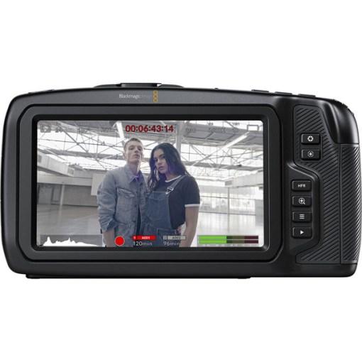 Blackmagic Pocket Cinema Camera 6K (Canon EF) - Caméra 6K