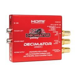 DECIMATOR2 - convertisseur 3G/HD/SD-SDI vers HDMI