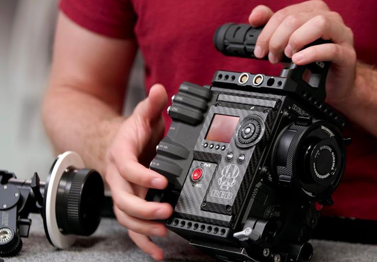 Apprenez à utiliser les caméras RED !