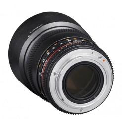 Samyang 85mm T1.5 VDSLR II Canon - objectif