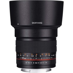 Samyang 85mm F1.4 AE Aspherical IF - Objectif