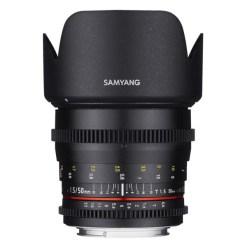 Samyang 50mm T1.5 VDSLR (Sony E) - Objectif Cinéma