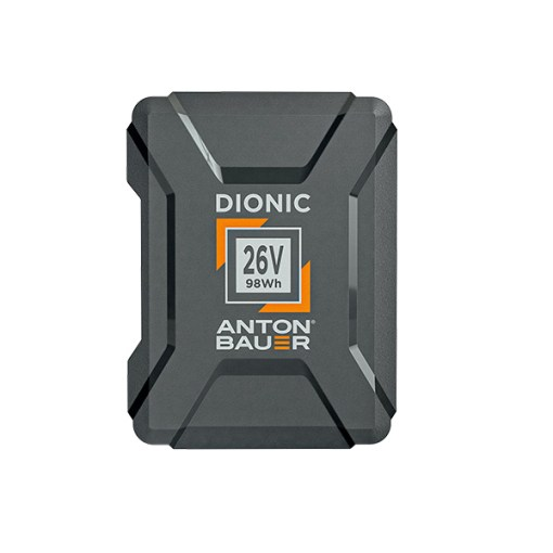 Anton Bauer Dionic 26V 98Wh - batterie Gold Mount Plus