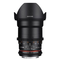 Samyang 35mm T1.5 VDSLR II Canon - objectif