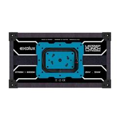 Exalux LEDZEP PUNCH 1X2 TW2765 Kit ENG - Panneau LED