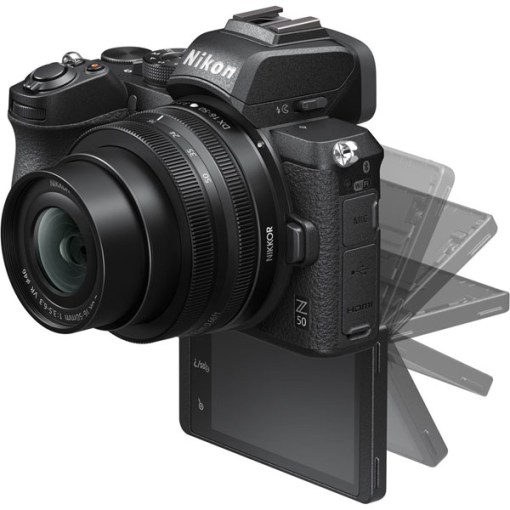 Nikon Z50 avec Bague d'adaptation FTZ - Appareil Photo