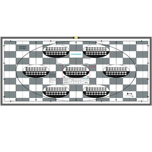 Mire PETA chart 72x158 cm avec Options