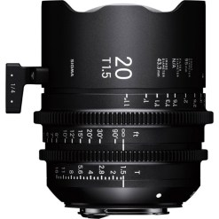 Sigma 20mm T1.5 FF F/AP2 PL /i - Objectif Caméra