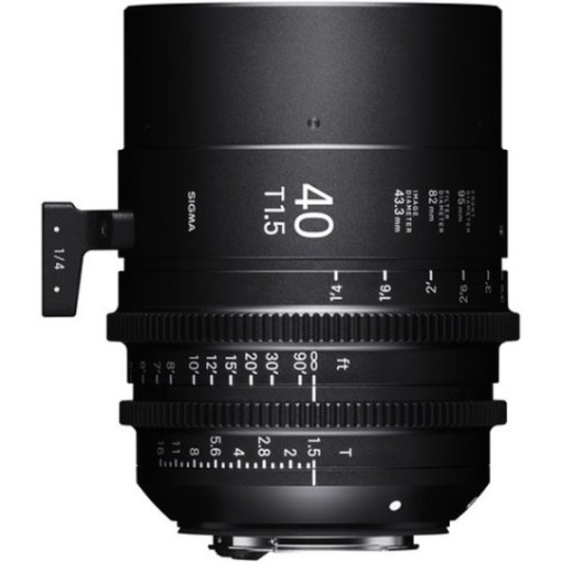 Sigma 40mm T1.5 FF F/AP2 PL /i - Objectif Cinéma