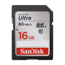 Sandisk Ultra 16 Go - carte mémoire SDHC