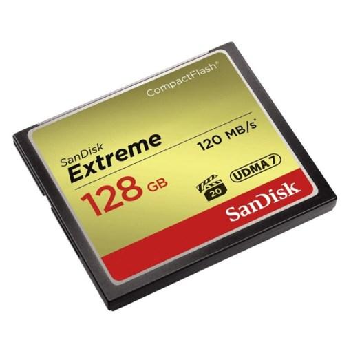 Sandisk CF Extreme 128Go - Carte CompactFlash