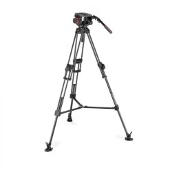 MANFROTTO TREPIED CARBONE FAST TWIN AVEC ROTULE 509