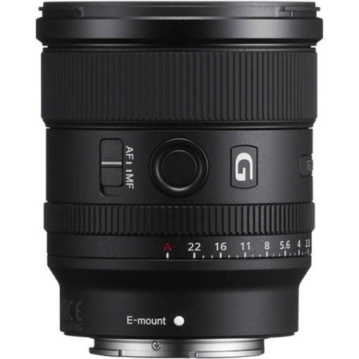 Sony FE 20mm F1.8 G - Objectif