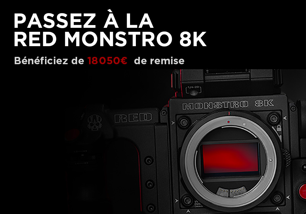 Trade-In RED MONSTRO 8K