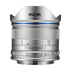 Laowa 7.5mm F2 MFT (argent) - objectif